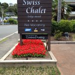 Entry to Swiss Chalet