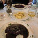 Steak - amazing sauce!!