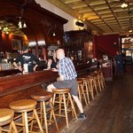 The 20 ft long historic bar