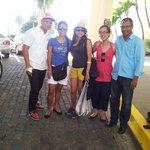 Con el equipo de Dominican Quest