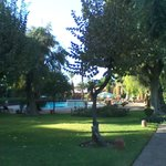 Zona parco attiguo alla piscina