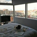 Corner room - high floor