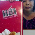 Colette and me at Bravo restaurant