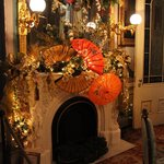 """Parlor decorated in """"Japan"""" theme, Christmas '13"""