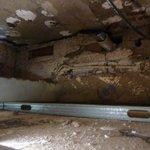 Ceiling void used as a air plenum
