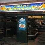 Paradise Buffet & Cafe signage