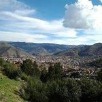 uma vista maravilhosa par Cusco