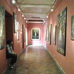 Sala das pinturas cusqueñas.
