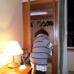 closet with safe