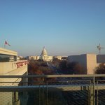 Fantastic view of Capitol from deck at Newseum