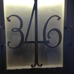 This was the original sign for One Aldwych! Private guest lounge