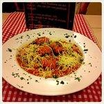 Spaguetti con albondigas