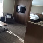 Junior Suite, very open space and nice