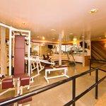 full size fitness center