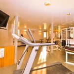 full size fitness center