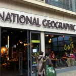 National Geographic Store on Brompton Rd.