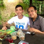 The best supir in Bali, Mr Gede Tinaya. Thanks a million for his excellent and sincere service!