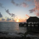 The Palapa at sunrise