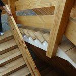 Staircase (no lift)