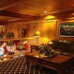 Loft common guest lounge