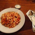 Home made Viva Tagliatelle pasta