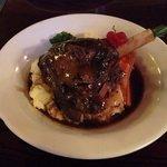 hmmm yummy lamb shank!!