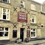 front entrance to the white horse