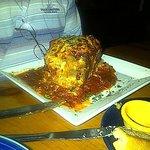 Lasagna at The Garlic
