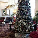 Not a good picture. The Lobby was beautifully decorated!