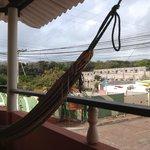 Vista desde el balcon saliendo de la habitacion