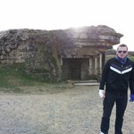 Bunker Nazi en Pointe du Hoc