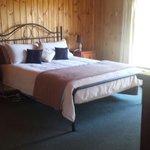Master bedroom of cottage
