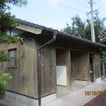 toilet in Kareigawa Station