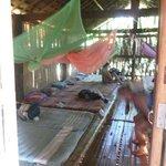 Huts jumbo camp