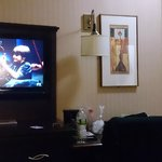 TV and door