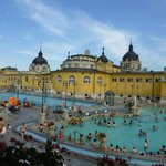 The pools of Szechenyi Baths