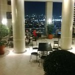 rooftop restaurant/bar/pool