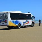 The bus on the 90 miles beach