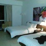 Room & comfy beds