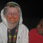 A very satisfied customer - face full of Berbere