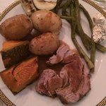 lamb roast cooked to perfection