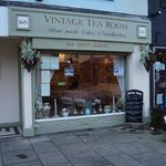 Outside Vintage TeaRoom