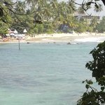 View of Mirissa Beach from the Hotel
