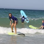 First lesson... surfing!!!!