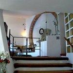 Inside Dali's house