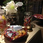 Candy front desk