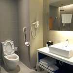 Sink and Toilet at the Park Inn Davao