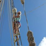 Climb the rigging