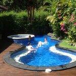Tranquility villa pool