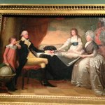 George Washington and family--Martha was the one with the money and breeding--she was a Lee